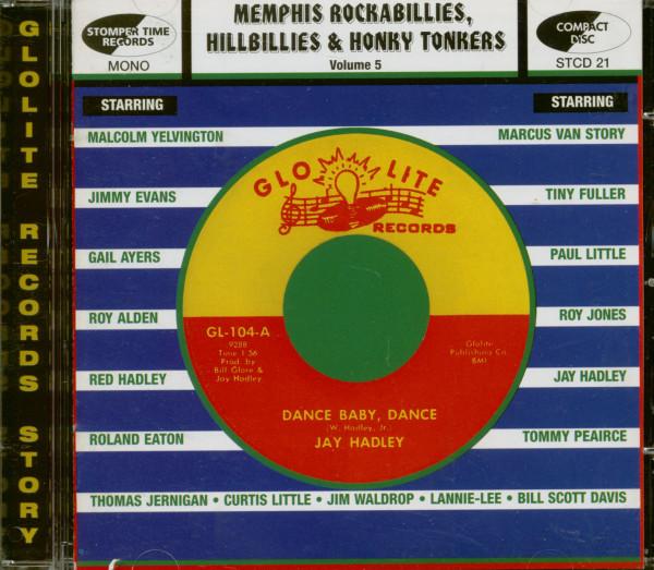 Memphis Rockabilly, Hillbilly & Honky Vol.5 (CD)