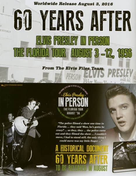 In Person - The Florida Tour August '56