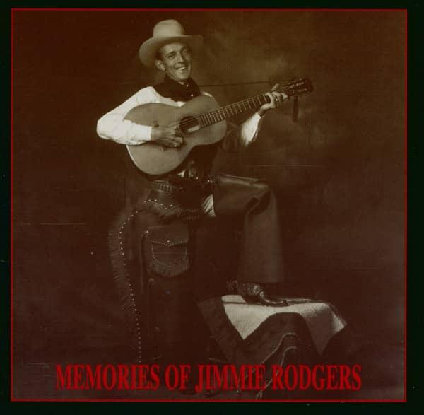 Memories Of Jimmie Rodgers - Various Artists (CD)
