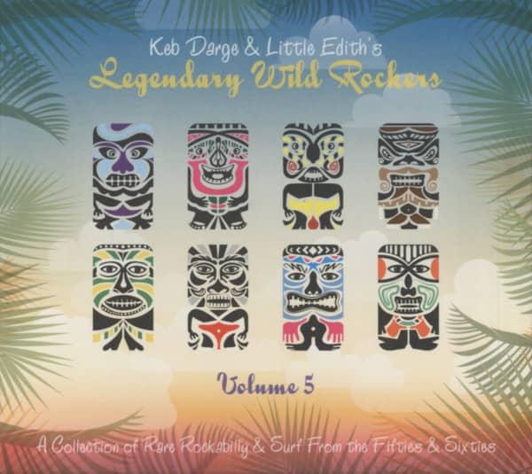 Legendary Wild Rockers, Vol.5