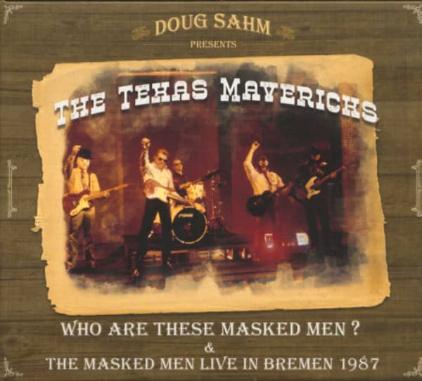 Doug Sahm Presents The Texas Mavericks (2-CD)