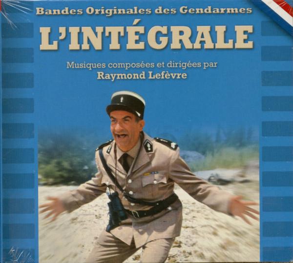 Bandes Originales des Gendarmes - L'Intégrale (CD)