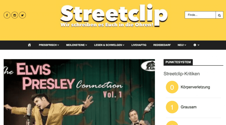 Presse-Archiv-The-Elvis-Presley-Connection-Vol-1-streetclips