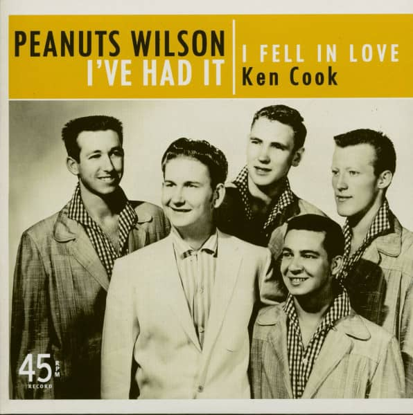 I've Had It - I Fell In Love (Ken Cook) (7inch, 45rpm, PS, Ltd.)
