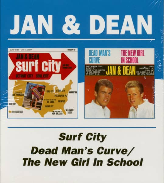 Surf City - Dead Man's Curve-The New Girl In School (CD)