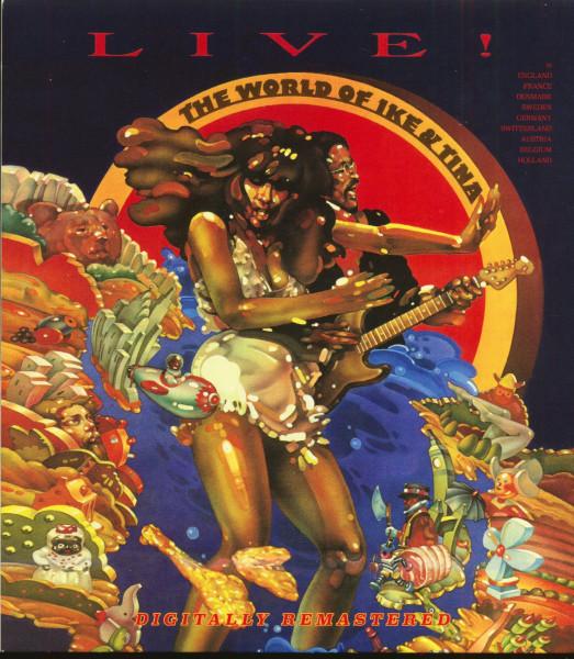 The World Of Ike & Tina Live! (CD)