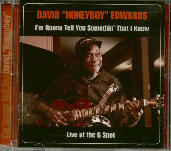 I'm Gonna Tell You Somethin That I Know: Live At The G Spot (CD,DVD)