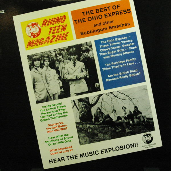 The Best Of Ohio Express And Other Bubblegum Smashes , Vol.1 (LP)