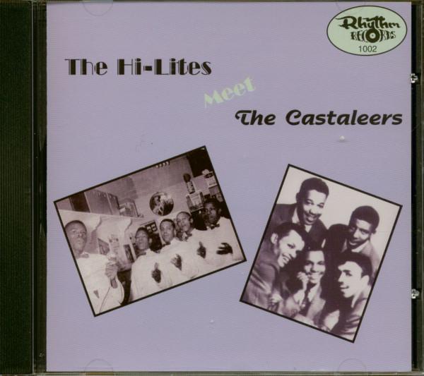 The Hi-Lites Meet The Castaleers (CD)
