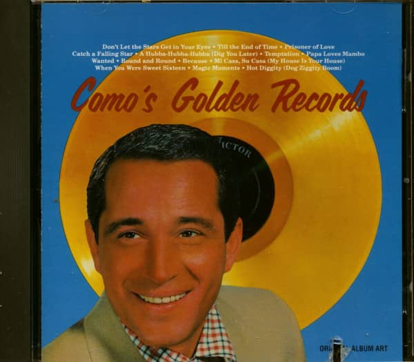 Como's Golden Records (CD, Cut-Out)