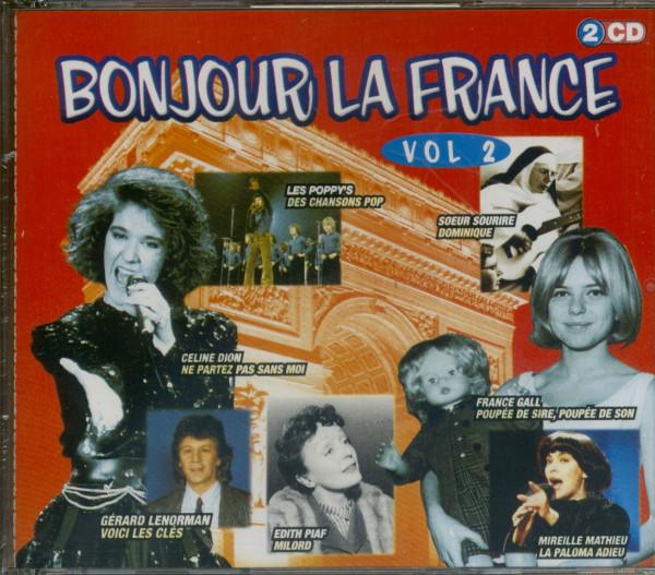 Vol.2, Bonjour La France 2-CD