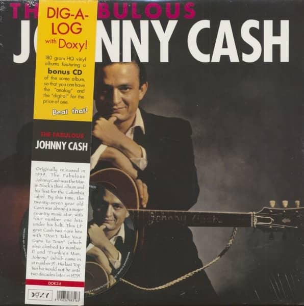 The Fabulous Johnny Cash (LP & CD, 180g Vinyl)