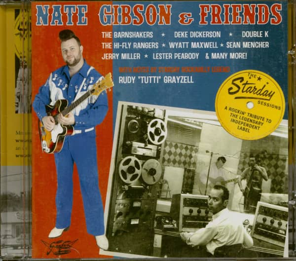 Nate Gibson & Friends - The Starday Session (CD)