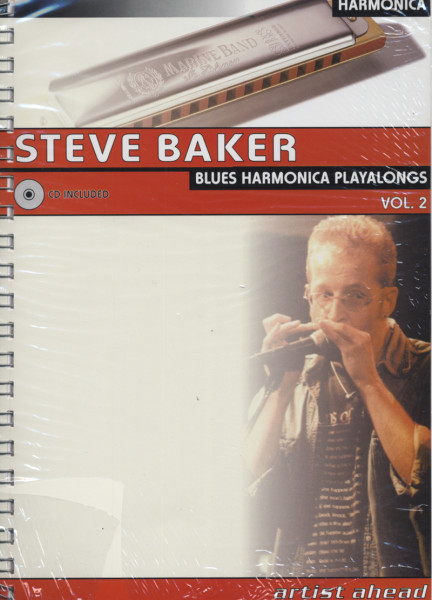 Blues Harmonica Playalongs. Vol. 2. Deutsche Ausgabe