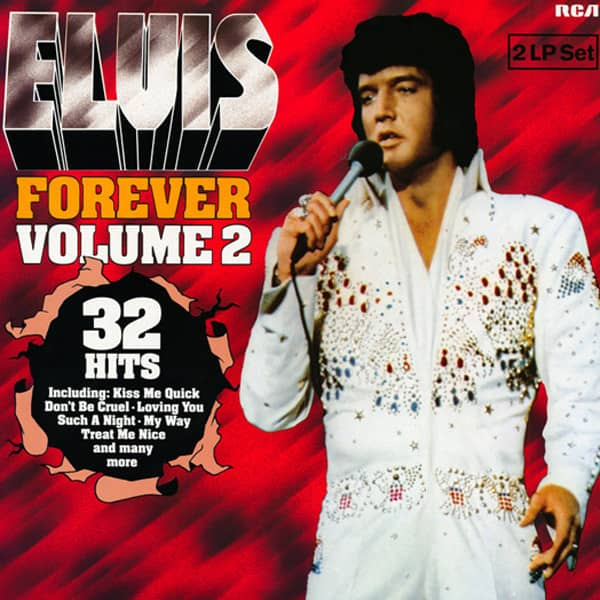 Elvis Forever Vol.2 - 32 Hits (2-LP)
