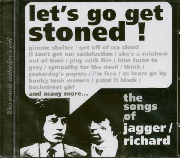 Let's Get Stoned - Songs Of Jagger - Richard (CD)