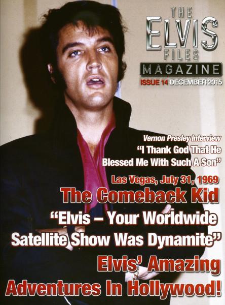 The Elvis Files Magazine #14-December 2015