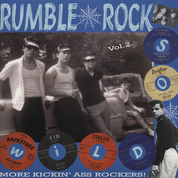Rumble Rock, Vol.2 - More Kickin' Ass Rockers (LP)