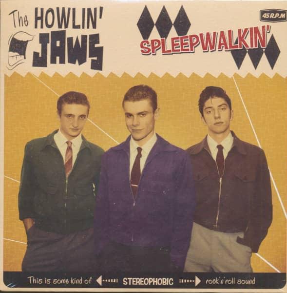 Sleepwalkin' - Bumblebee Bop (7inch, 45rpm, PS)