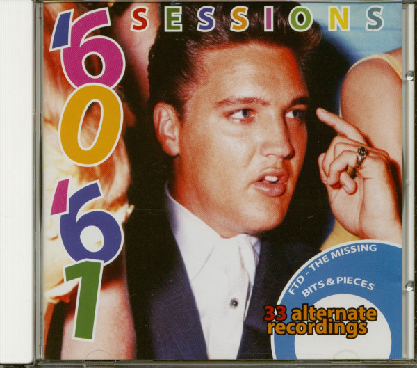 Elvis '60 - '61 Sessions (CD)