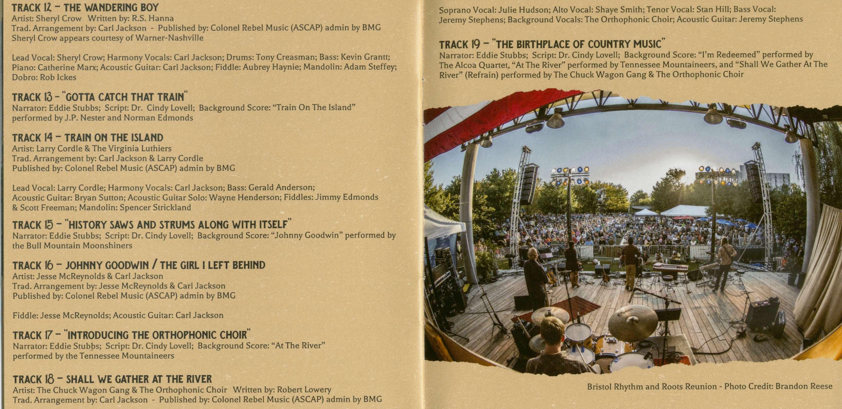 Various Cd Orthophonic Joy The 1927 Bristol Sessions