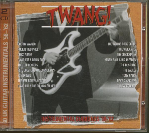 Twang - UK Instrumental Diamonds 58-62 2-CD