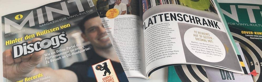 Mint - Magazin Für Vinyl Kultur