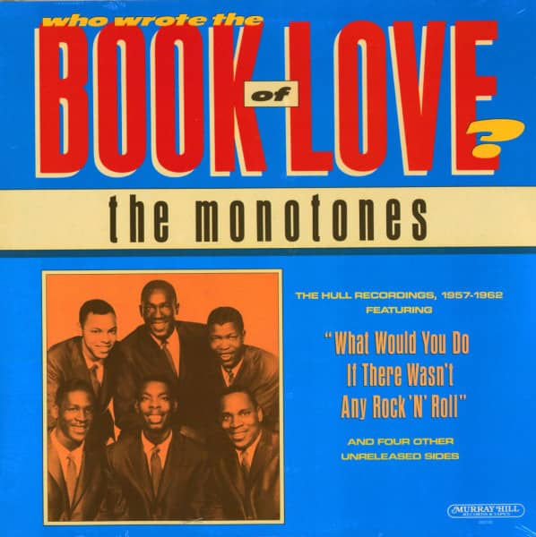 Who Wrote The Book Of Love? (LP)