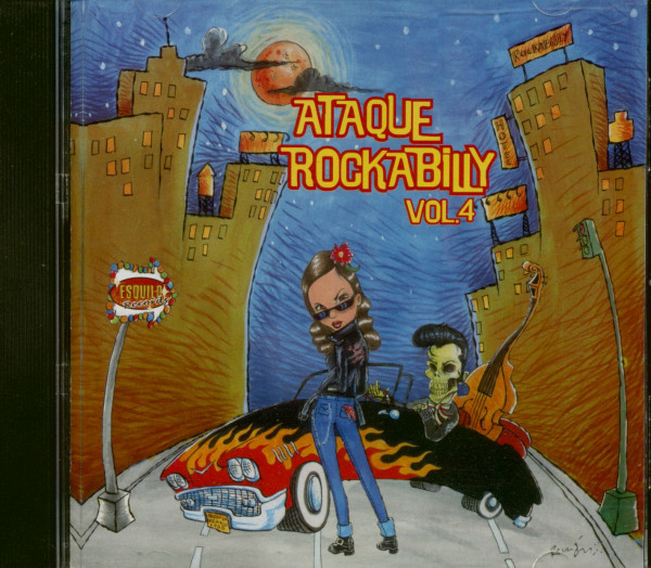 Ataque Rockabilly Vol.4 (CD)