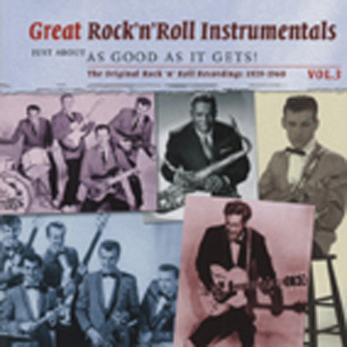 Vol.3, Great Rock & Roll Instrumentals 2-CD