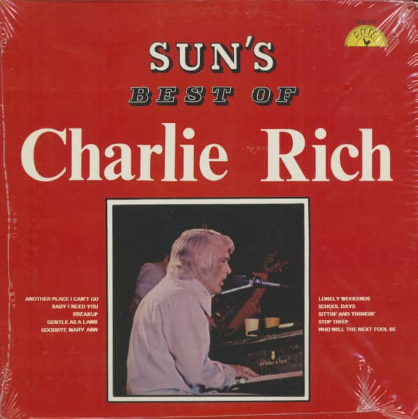 Sun's Best Of Charlie Rich (LP)