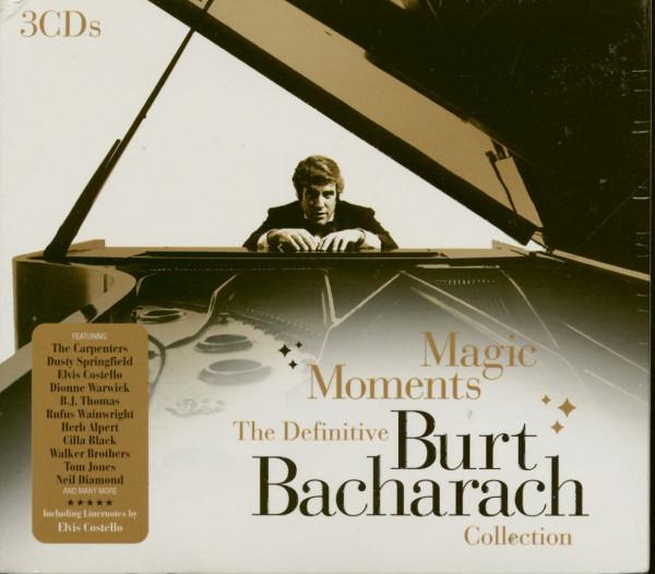 Magic Moments - The Definitive Burt Bacharach Collection (3-CD)