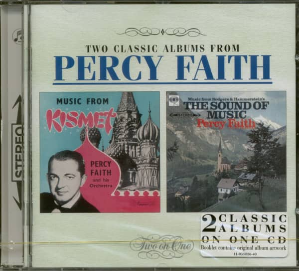Kismet & The Sound Of Music - Two Classic Albums From Percy Faith (CD)