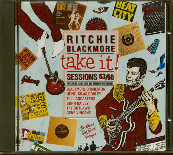 Take It - Ritchie Blackmore Sessions 63-68 (CD)
