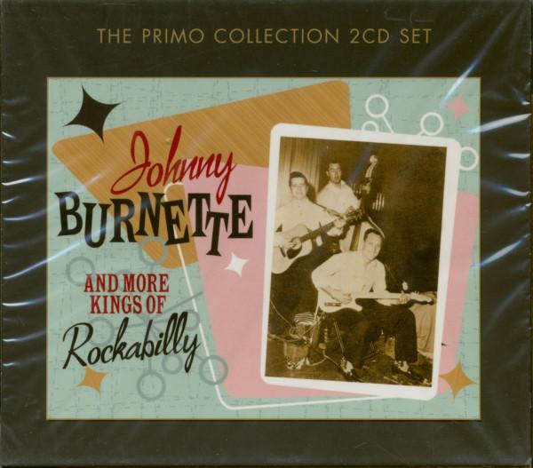 Johnny Burnette & More Kings Of Rockabilly (2-CD)