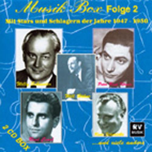Vol.2, Musik Box 1947-1950 (2-CD)