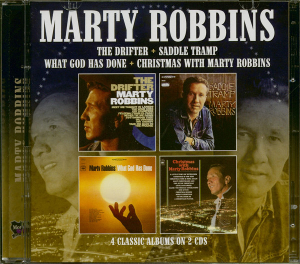 The Drifter - Saddle Tramp - What God Has Done - Christmas With Marty Robbins (2-CD)