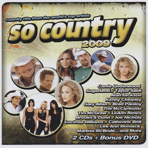 So Country 2009 (2-CD&DVD Set)