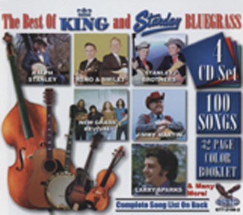 King & Starday Bluegrass - Best Of (4-CD)