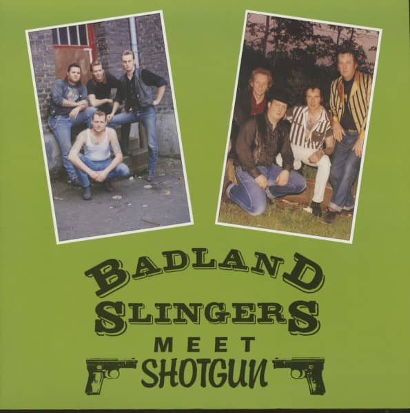 Badland Slingers Meet Shotgun (LP)