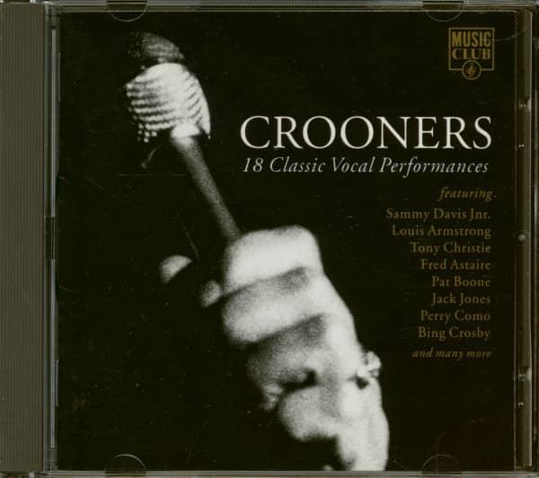 Crooners -18 Classic Vocal Performances (CD)