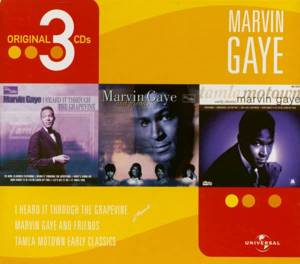 Marvin Gaye - 3 Original CDs (3-CD)