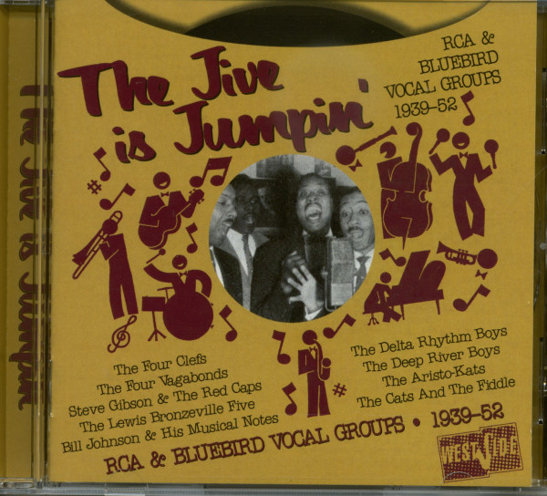 The Jive Is Jumpin' - RCA & Bluebird Vocal Groups (CD)