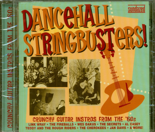 Dancehall Stringbusters! Crunchy Guitar Instros From The '60s (CD)