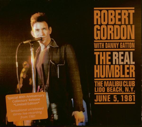 Robert Gordon with Danny Gatton - The Real Humbler (CD)