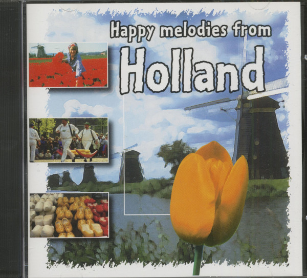 Happy Melodies From Holland - Barrel Organ Music (CD)