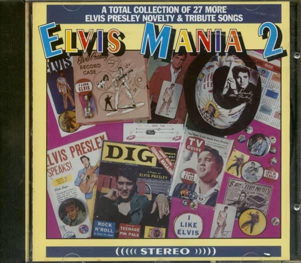Elvis Mania 2 (CD)