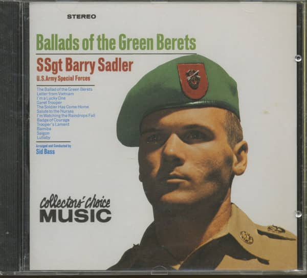 Ballads Of The Green Berets...plus (CD)