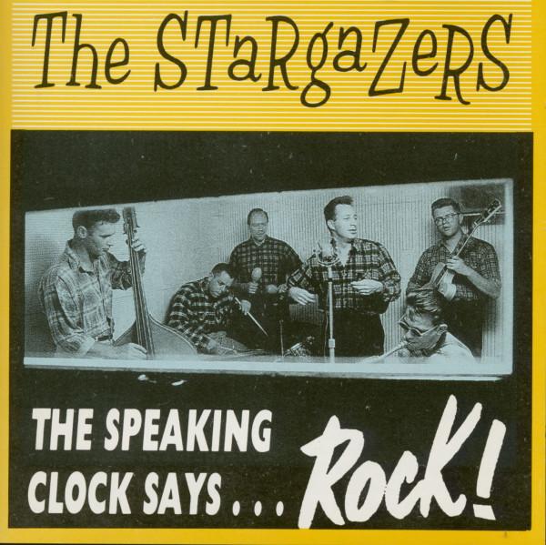 The Speaking Clock Says...Rock! (CD)