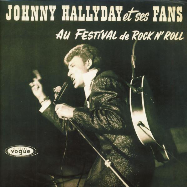 Johnny Hallyday Et Ses Fans Au Festival De Rock'n'Roll (LP)